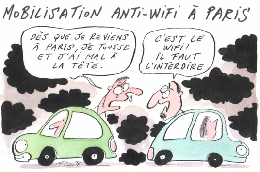 les dangers du wifi
